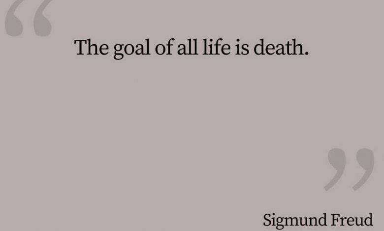 Photo of Sigmund Freud Quote – Goal of Life…