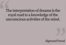 Photo of Sigmund Freud Quote – The Interpretation of Dreams…