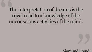 Photo of Sigmund Freud Quote – The Interpretation of Dreams…